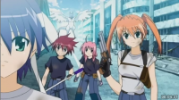 Training against Nanoha