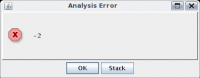What a meaningful error…