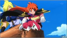 Lina addressing pirates
